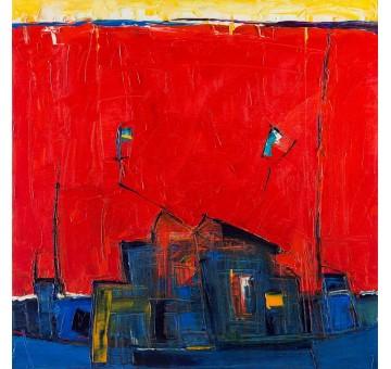 1/Album with square artworks 50x50 cm